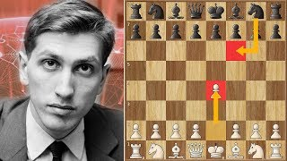 Fischer Goes for Alekhine's Defense | Minić vs Fischer | Palma de Mallorca Interzonal (1970)