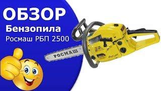 Бензопила  Росмаш РПБ-2500 от компании дом инструмента - видео
