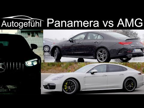 Porsche Panamera Turbo S vs Mercedes CLS AMG vs Mercedes AMG GT 4 Door Comparison