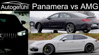 Porsche Panamera Turbo S vs Mercedes CLS AMG vs Mercedes AMG GT 4 Door Comparison