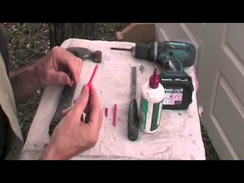 How to Repair Stripped Screw Holes. GOOD ONE!  This Video Addresses Stripped Screw Holes in Wood.