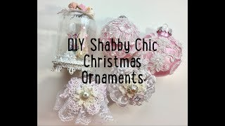 Live, DIY Christmas Ornaments & Decor/Shabby Chic Ornaments