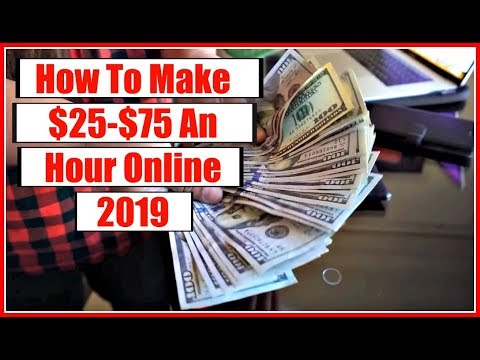 How To Make Money Online Fast 2018 & 2019 – How To Work From Home 2019!  Get Paid Daily!