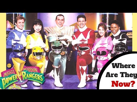 Mighty Morphin' Power Rangers! | Where Are They Now? (Original Rangers)