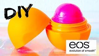 DIY Tinted EOS Lip Balm! EASY