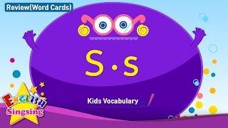 Kids từ vựng biên soạn - Words bắt đầu với S, s 2
