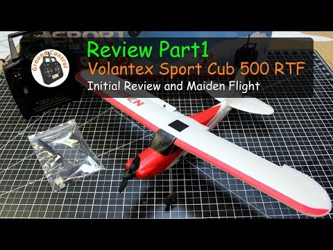 Review Part 1 - Volantex Sport Cub 500 RTF from Banggood - Specs, Info, Maiden Flight & More