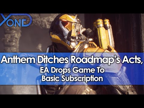 Anthem Ditches Roadmap's Acts, EA Drops Game To Basic Subscription