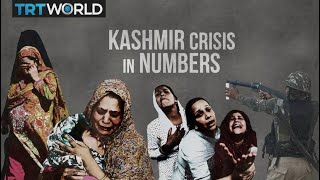Kashmir conflict in numbers