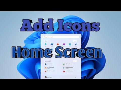 #16 Windows 10: How to add Icons in Desktop(working area)  #computerrepair