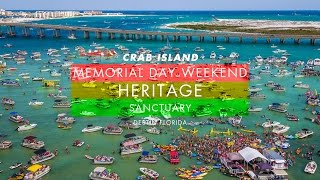 Heritage : Sanctuary : Crab Island Memorial Day 2016