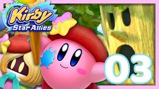 WHISPY WOODS !  | KIRBY STAR ALLIES EPISODE 3 CO-OP NINTENDO SWITCH FR