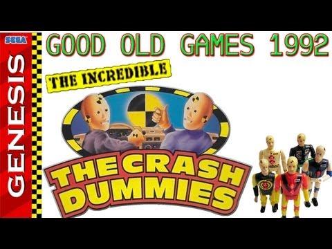 The Incredible Crash Dummies Megadrive