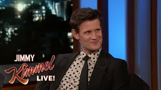 Мэтт Смит, Matt Smith on Prince Harry, Prince Philip & The Crown
