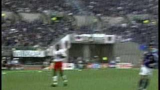 2002FIFAワールドカップ日本vsチュニジア中田英寿ゴールシーン