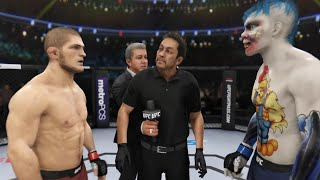 Khabib vs. Pretty Boy (EA Sports UFC 3) ☝️🦅