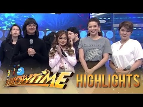 Janine Tear Up After Her It's Showtime Performance With Unique | It's Showtime