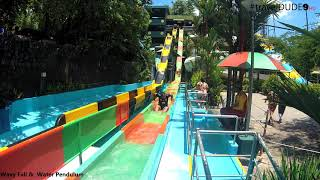 Wavy Fall & Water Pendulam Ride || Wonderla Kochi