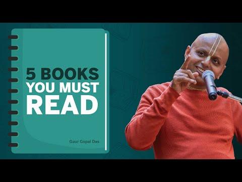 5 Books You Must Read! Gaur Gopal Das HD Mp4 3GP Video and MP3