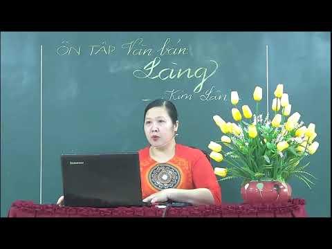 Môn Ngữ văn khối 9 - Làng - GV Nguyễn Thị Thu Hương - Trường THCS Thái Long