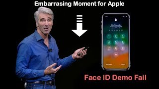 Embarrassing Moment for Apple: Face ID lock demo fails TWICE during the iPhone X launch event | Kholo.pk