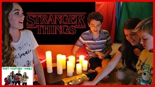 Stranger Things In A Blanket Fort / That YouTub3 Family