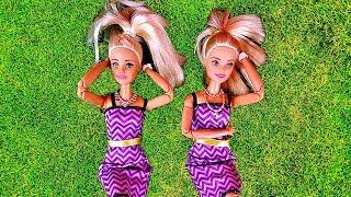 Rodzinka Barbie #31 * - KLON BARBIE? -  KEN MDLEJE! * Bajka po polsku z lalkami Bliźniaczki
