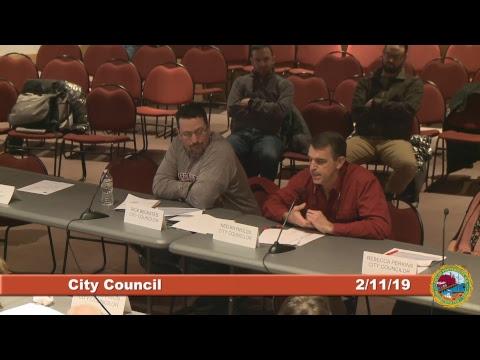 City Council 2.11.19