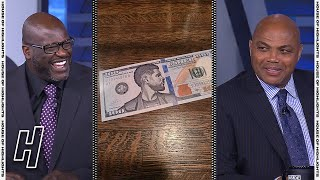 Shaq Hilariously Tried To Explain The Usher Bucks Controversy - Inside The NBA   April 15, 2021