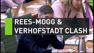 Rees-Mogg clashes with Verhoftstadt over EU rules