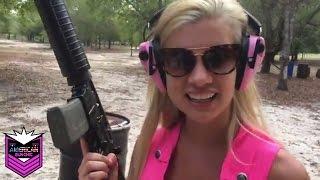 1st Time Shooting Machine Guns (Full Auto) Uzi, M16, Sten Gun, PPSh4