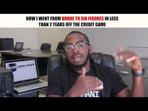 How I Went From Broke To Six Figures in less Than 2 Years Off The Credit Game
