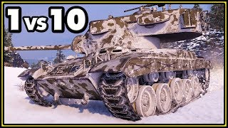 T37 - 1 vs 10 - World of Tanks Gameplay