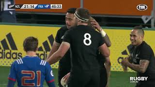 Test match, highlights Nuova Zelanda-Francia
