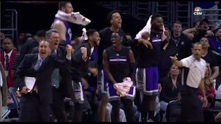 Kings down 18 with 5 minutes left beat Clippers | 3/26/17