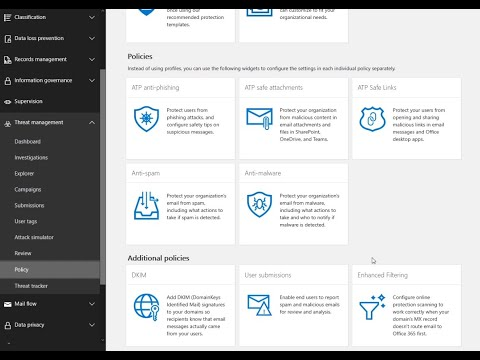 Microsoft Defender for Office 365 (Exchange Online Protection)