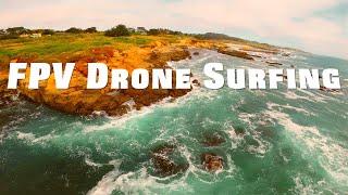 FPV Drone Surfing #FPV