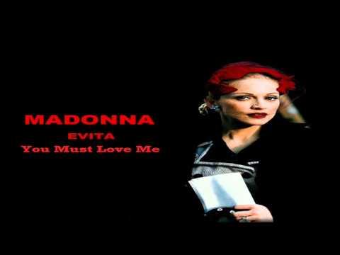 Madonna You Must Love Me (Studio Acapella Demo)