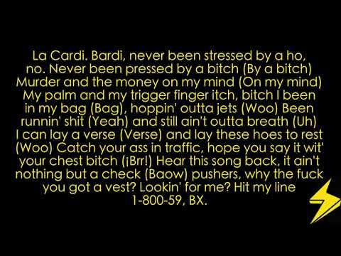 Yes Fat Joe Ft. Cardi B, Anuel AA & Letra/Lyrics