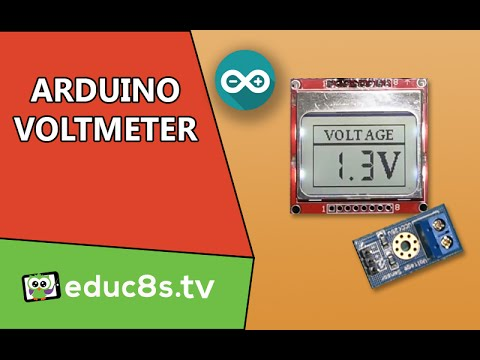 Build Your Own Voltmeter With An Arduino