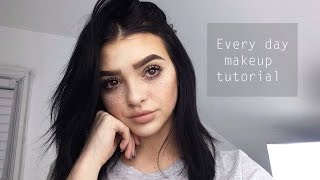 Everyday makeup tutorial! | updated 2016
