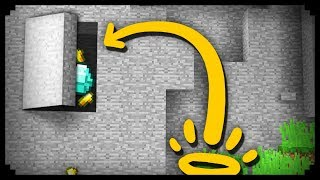 ✔ Minecraft: How to make a Secret Launch Pad House