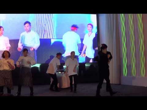 為香港旅遊發展局美食頒獎禮編排主題舞步