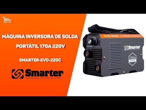 Máquina Inversora de Solda Portátil 170A 220V - Video