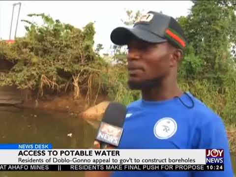 Access To Potable Water - News Desk on JoyNews (9-4-18)