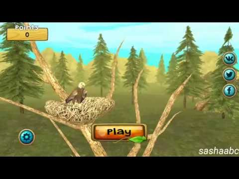 wild eagle sim обзор игры андроид game rewiew android.