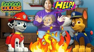 Oh No, Save Mom! (Goo Goo Gaga Pretend Play Paw Patrol Ultimate Rescue Heroes!)