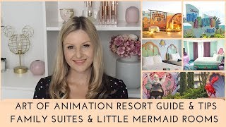 Disneys Art Of Animation Resort Review, Guide & Tips / Family Suites + Little Mermaid Rooms