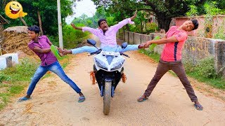 Must Watch New Funny Video😂😂Top New Comedy Video 2019 |Try To Not Laugh |#Pooryoutuber |#FmTV |#MeTv