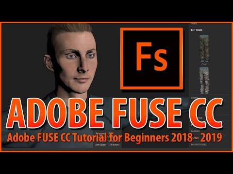 Adobe Fuse cc Beta – Adobe fuse tutorial – adobe fuse animation